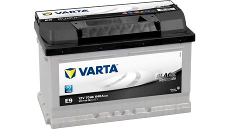Varta BLACK dynamic - 12V 70 Ah 640 A