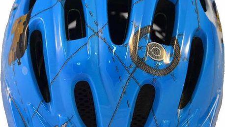 Chlapecká cyklistická helma ROXY S/M - modrá