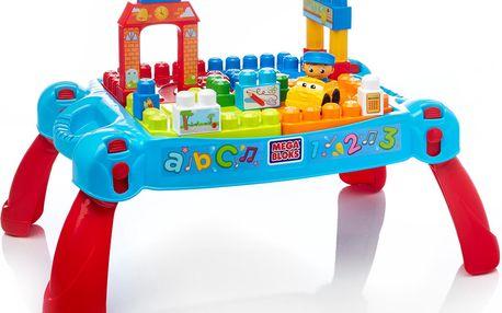 Mega - Skládací hrací stůl s kostkami