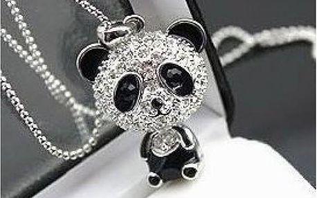Dívčí řetízek s přívěskem Panda - blyštivý doplněk!