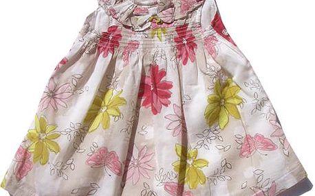 Dívčí šaty - barevné