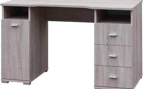 SCONTO SZAFIR PC stůl s úložným prostorem