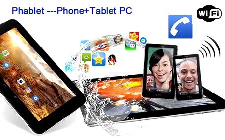 Tablet 3v1! GPS navigace, smartphone na 2 SIM, dvoujádrový procesor i duální fotoaparát