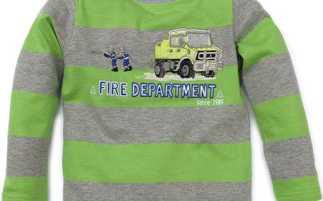 Chlapecký pruhovaný top - hasiči