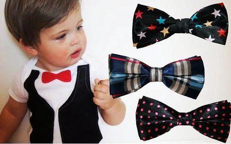 Chlapecký motýlek pro malé gentlemany!