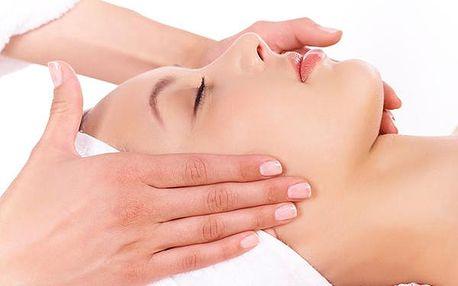 Manuální liftingová masáž obličeje, krku a dekoltu