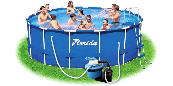 Marimex Bazén Florida 4,57x1,22 m s pískovou filtrací ProStar 6 - 10340155 + doprava ZDARMA