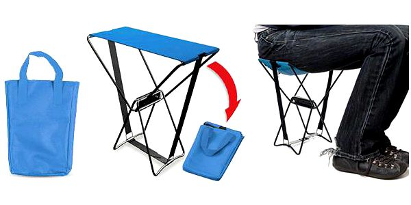 Praktická skládací židle: Pohodlné nicnedělání téměř kdekoli!