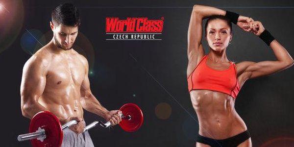 2měsíční permanentka do fitness World Class