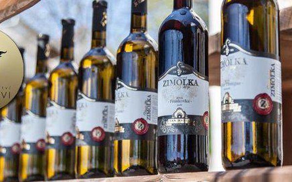 Set 6 vín z rodinného vinařství Zimolkovi