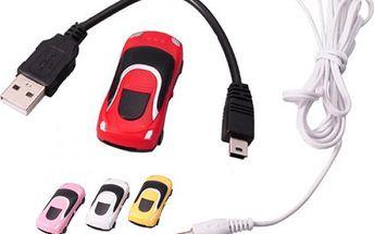 Mini MP3 přehrávač ve tvaru auta - více barev