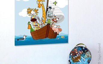 Nástěnný obraz - Na lodi