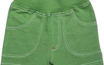 Dětské šortky - zelené