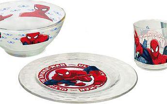3 dílný jídelní set SpiderMan