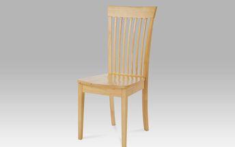 Autronic Dřevěná židle celodřevěná YAC213SD BUK