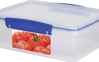 Box na ovoce a zeleninu mix barev 2 litry