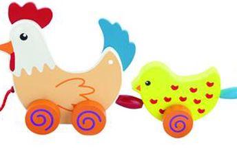 Tahací slepička s kuřátky