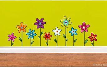Samolepicí dekorace - Květy