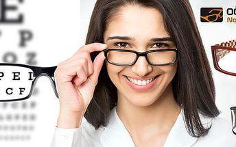 Voucher v hodnotě 1000 Kč na brýlové obruby
