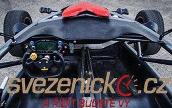 Adrenalinová jízda ve voze ARIEL ATOM 3 se slevou 88 %!