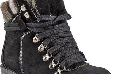 Černé dámské sportovní boty