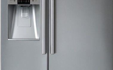 Americká lednička s výrobníkem ledu Daewoo FRN Q19DCS SBS