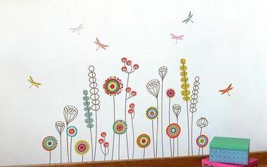Samolepicí dekorace - Zahrada