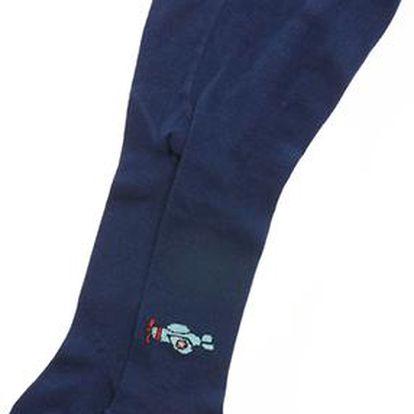 Chlapecké punčocháče - tmavě modré
