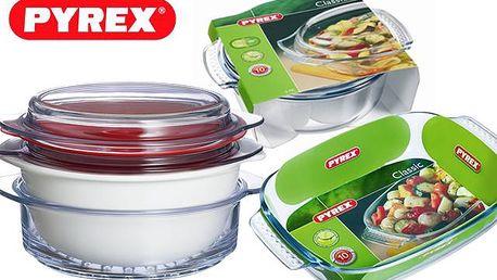 Pekáče a mísy Pyrex - značkové varné sklo