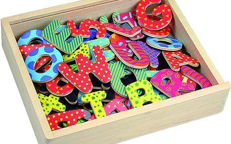 Magnetky - písmena a čísla