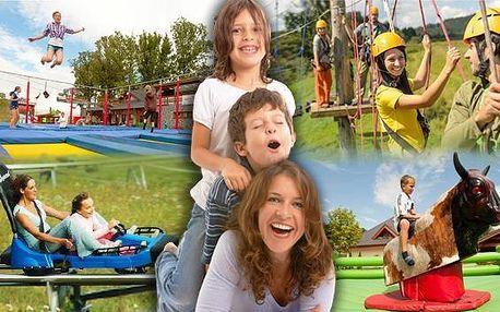 4* hotel HEIpark, adrenalinové léto a děti do 6 let zdarma. Léto plné zážitků pro celou rodinu! Neomezené využití přírodního koupání, LAST MINUTE nabídka za akční cenu a polopenze v 4* hotelu Heipark až do října 2015!