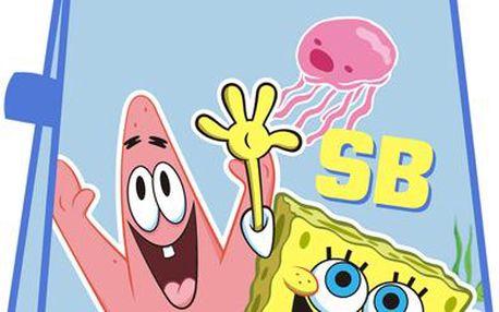 Bryndáček/zástěrka Sponge Bob