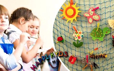 Letní tvoření - týdenní kroužek pro děti