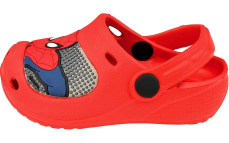 Chlapecké sandály Spiderman - červené