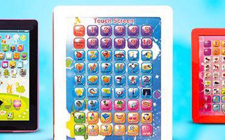 Dětský tablet pro výuku angličtiny: angličtina hravě a zábavně!