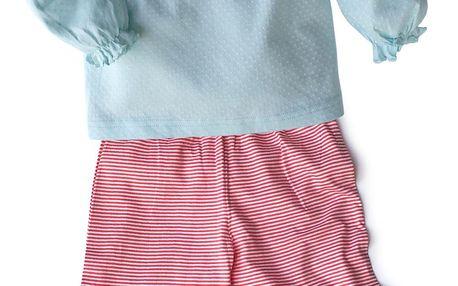 Dívčí pyžamo se spící kočičkou