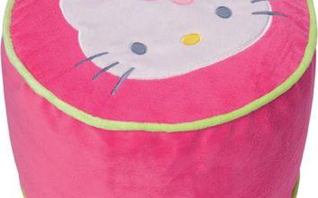 Dětský taburetek s motivem Hello Kitty