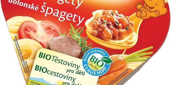 BIO Boloňské špagety 250g