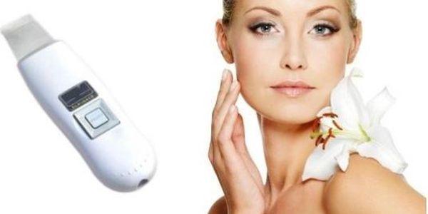Kosmetický ultrazvukový čistič pleti - VA 2000 - již žádné akné a černé tečky!