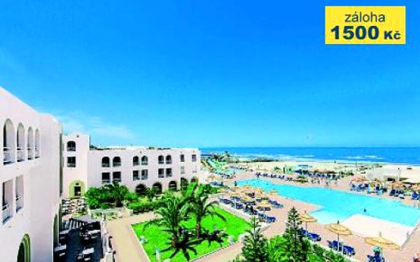 Tunisko, oblast Djerba, doprava letecky, all Inclusive, ubytování v 4* hotelu na 9 dní