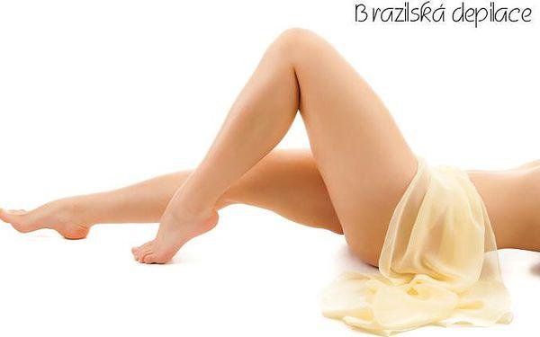 Šetrná BRAZILSKÁ DEPILACE cukrovou pastou s možností depilace podpaží!