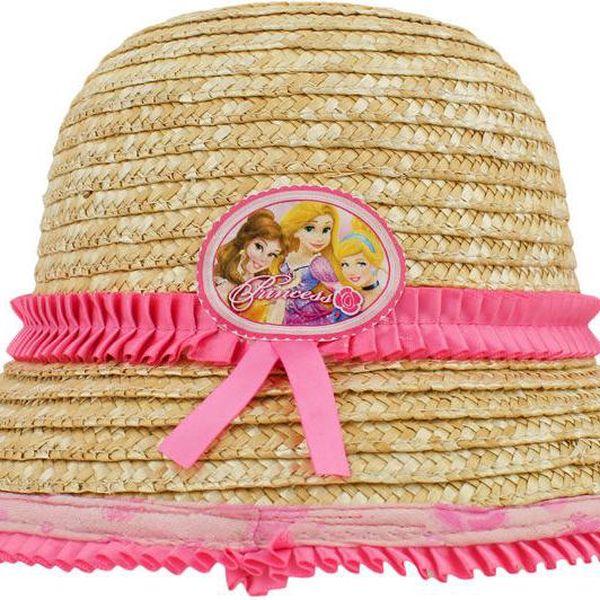 Dívčí slaměný klobouček Princezny