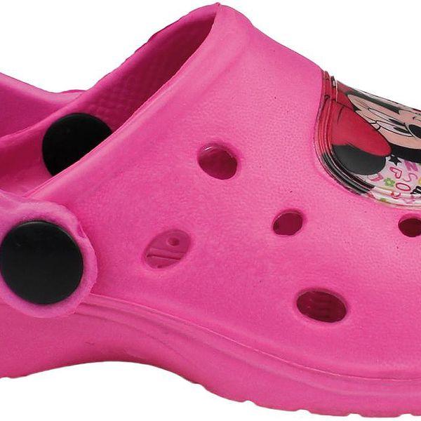 Dívčí sandály Minnie - růžové
