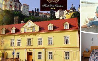 Dovolená v hotelu Pod Zámkem na 3 nebo 6 dní pro dva s polopenzí a děti do 5 let zdarma!