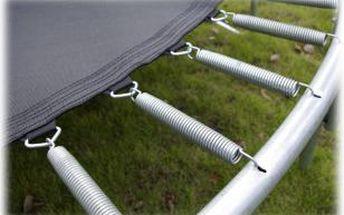 Pružiny (set) pro trampolíny 183-490 cm ( cena za 8 kusů)
