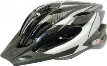 Cyklistická přilba Razier VENTO černá/šedá