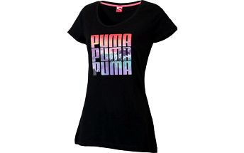 Dámské triko Puma Mountain Tee v klasickém střihu