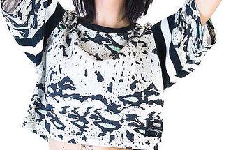 Dámský Top Reebok Classic Melody Ehsani Colab Reptile Seaglass vícebarevné M