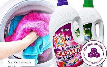 Prací gel Silkylux 4 l – doručení zdarma
