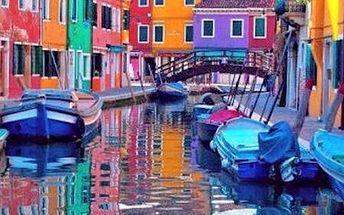 Benátky s koupáním a návštěvou ostrova Muráno